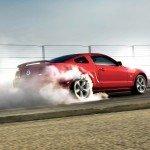 ford mustang 2009 burning tires-1920x1200