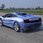 lamborghini gallardo police smoking tires-1600x1200