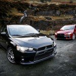 mitsubishi lancer evolution x 2008 black and red-1600x1200